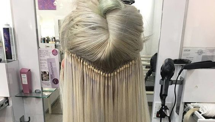 наращивание волос Flario
