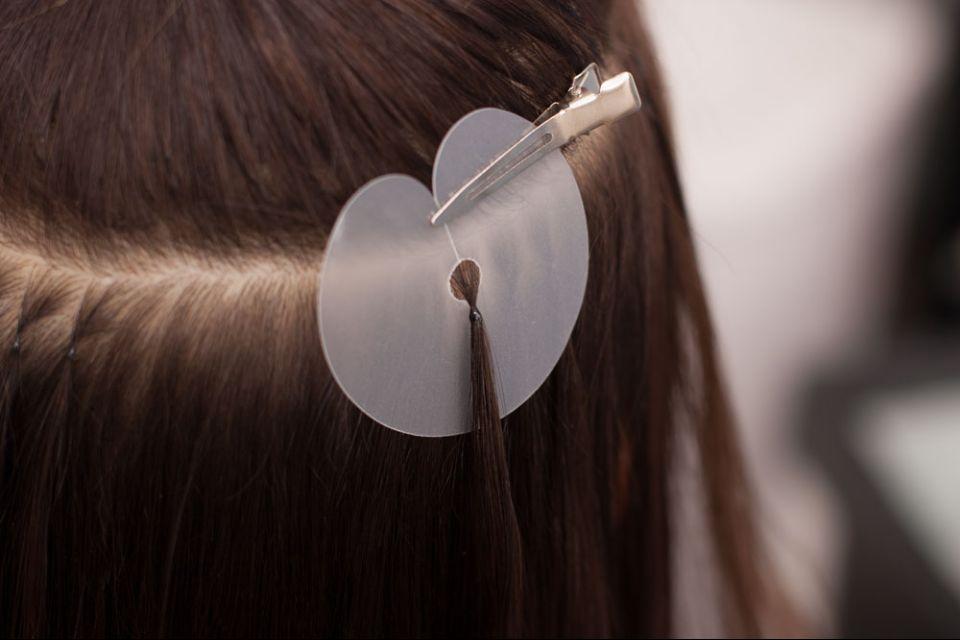 кольцо пластиковое наращивание волос