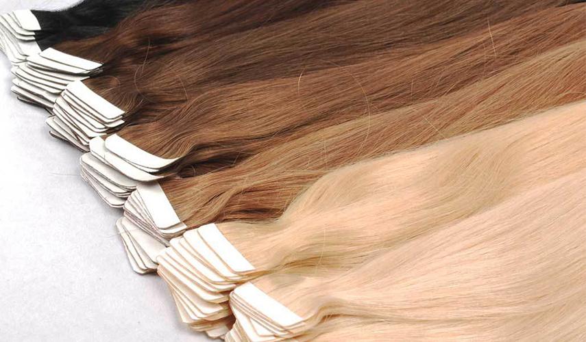 волосы для наращивания на ленте