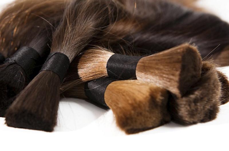 волосы для наращивания натуральные и неокрашенные