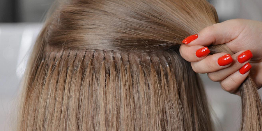 ошибки мастера наращивания волос неправильная расстановка капсул