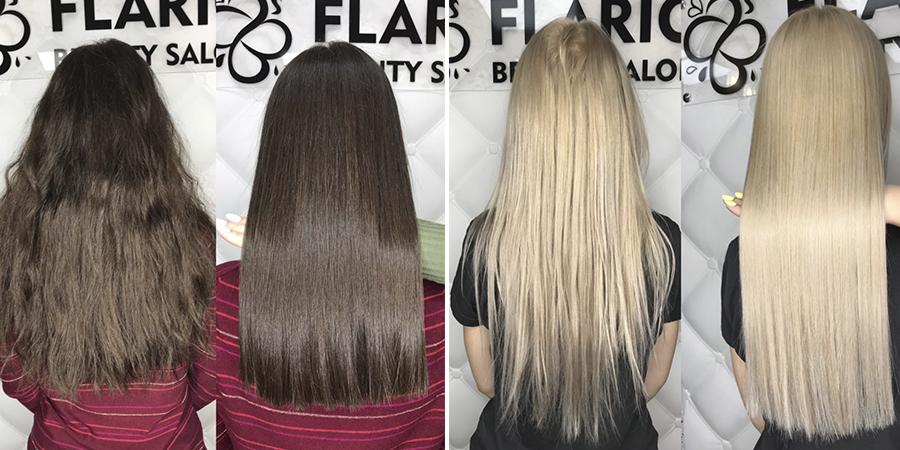 кератиновое восстановление поврежденных волос