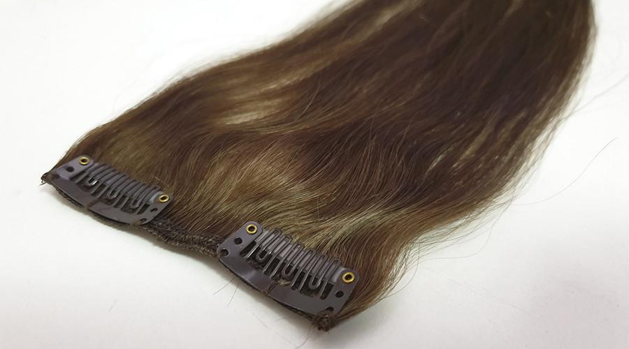 как выбрать волосы на заколках