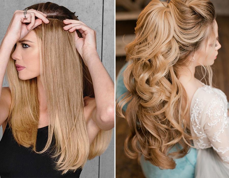 как выбрать волосы на заколках искусственные или натуральные