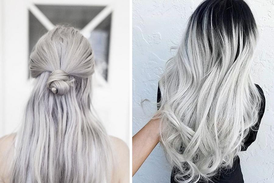 как выбрать волосы на заколках под окрашивание