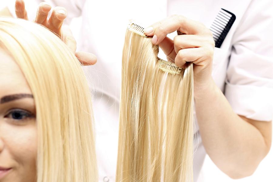 как выбрать волосы на заколках южно-русские волосы