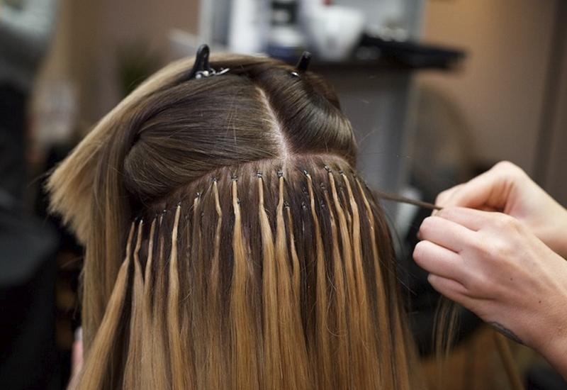 как снять капсульное наращивание волос