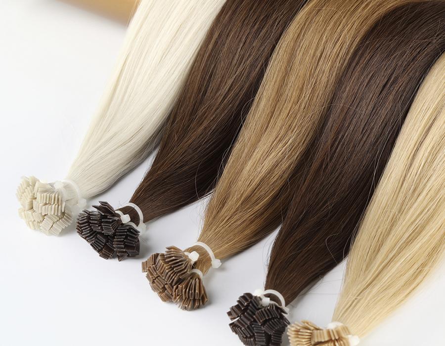 волосы для наращивания в капсулах