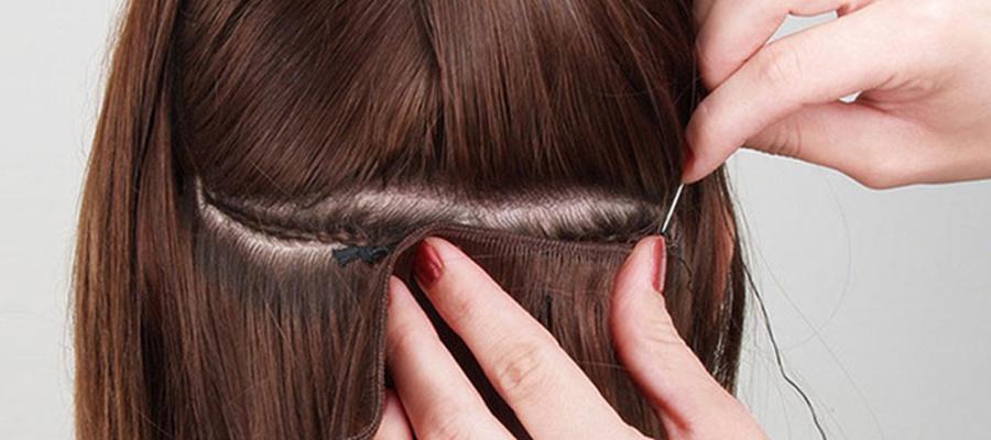 наращивание на короткие волосы голливудский способ